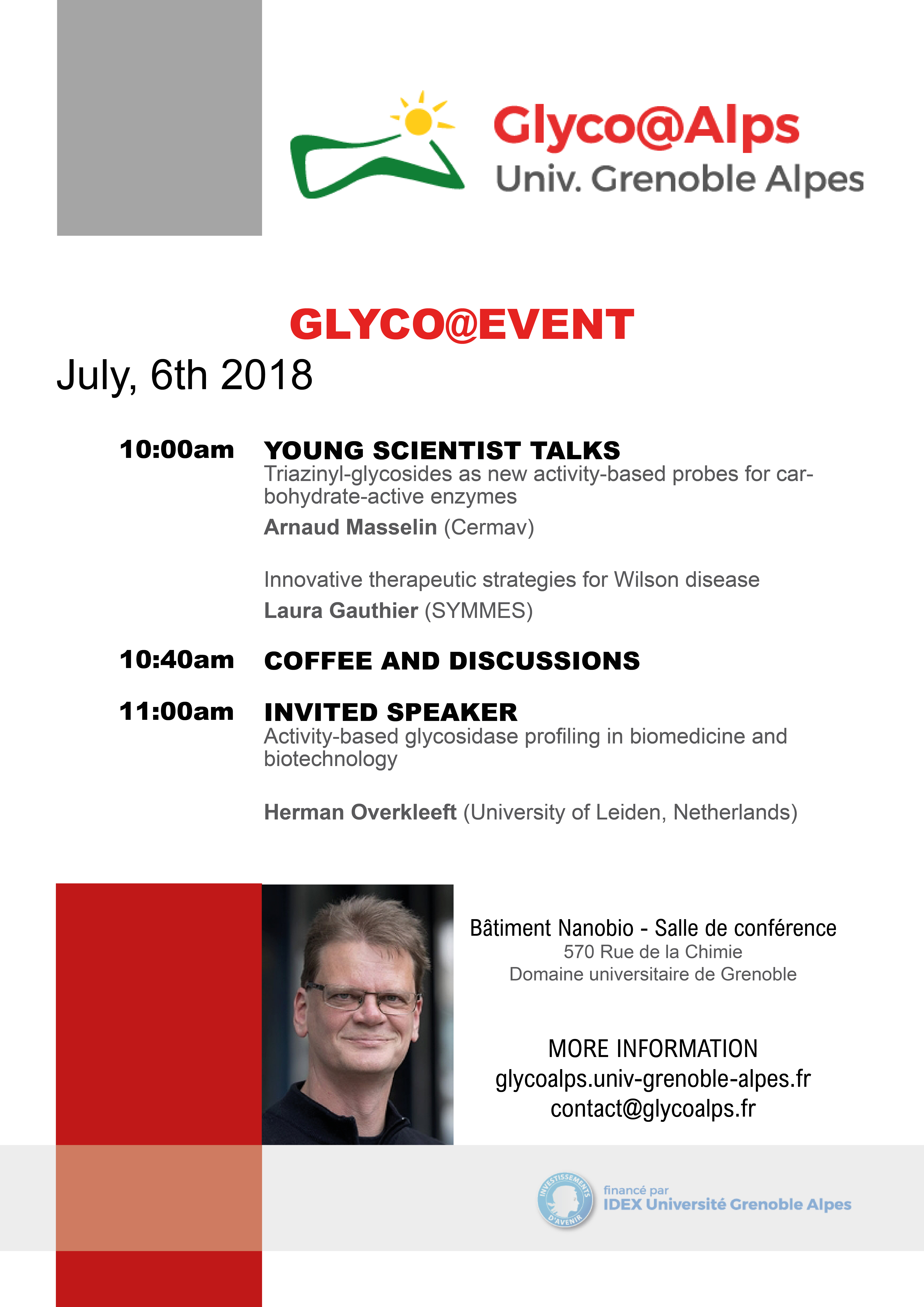 GlycoEvent 6 July