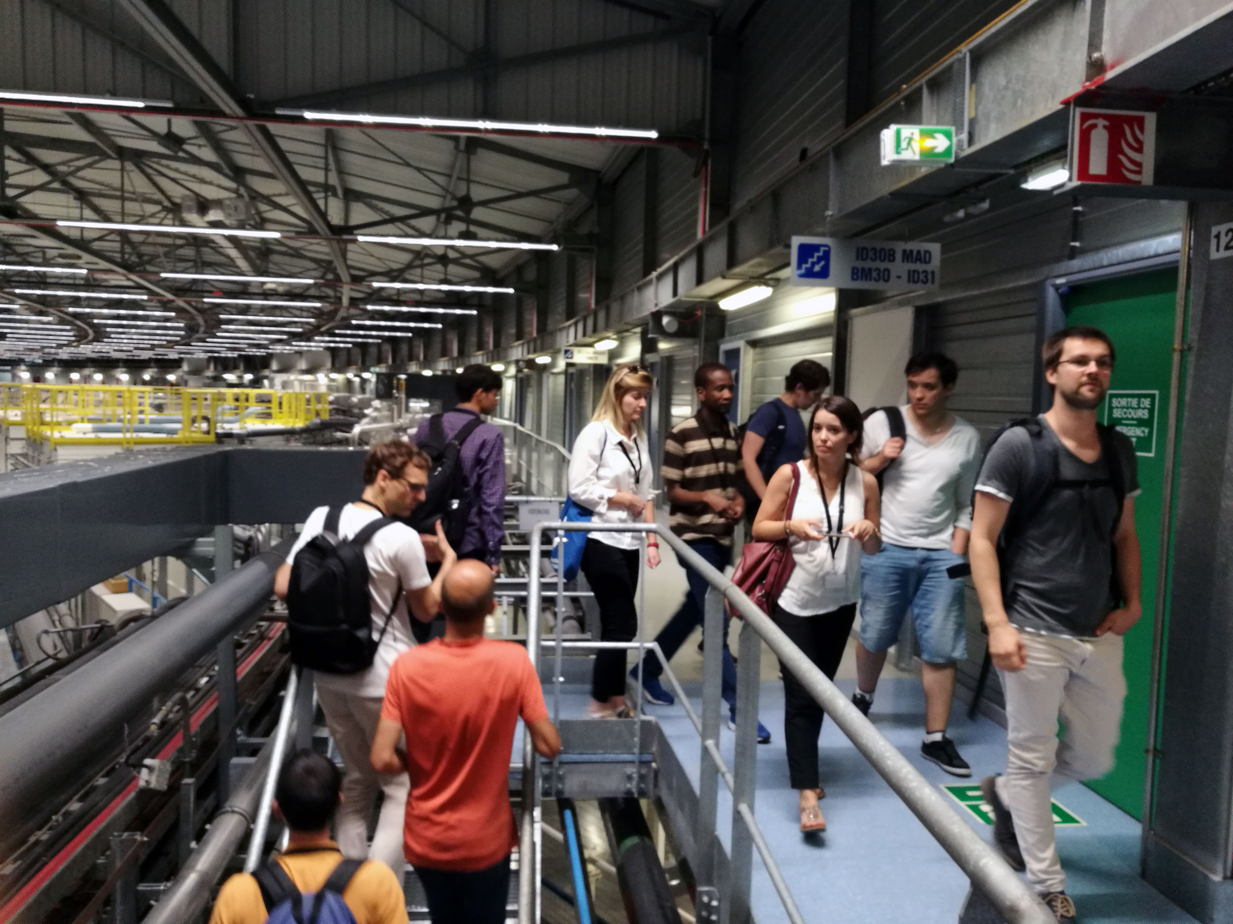 Visit-of-the-beamlines